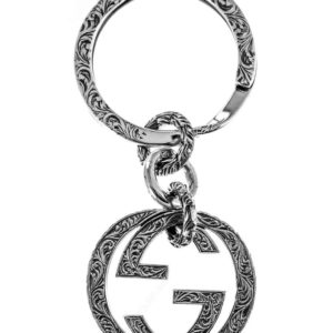 Gucci Interlocking G Keyring_0