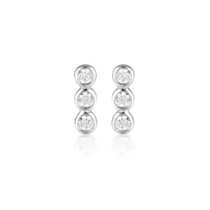GEORGINI TRIO STUD EARRING IE930W_0