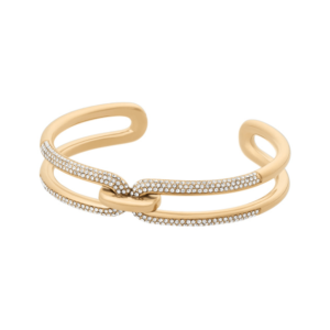 Michael Kors Gold Crystal Set Cuff MKJ6947710_0