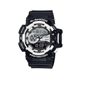 Casio G-Shock GA-400-1A Analog Digital Men's Watch (Black x White) GA400-1ADR_0