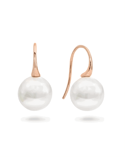 Natura rose gold pearl earrings_0