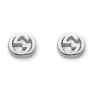 GUCCI INTERLOCKING G STUD EARRINGS YBD35628900100U_0
