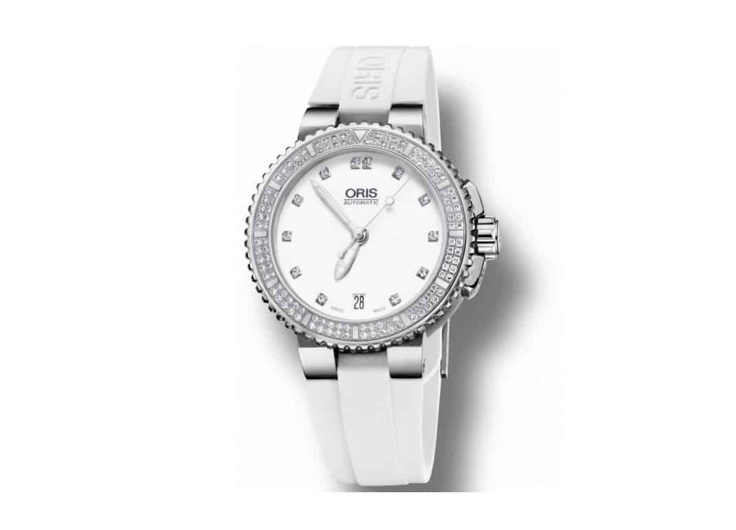 Oris Aquis Diamonds Ladies Watch 0173376524991-0741831_0
