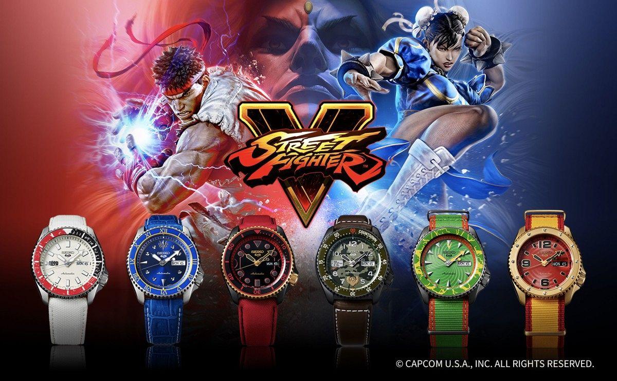 Seiko 5 Street Fighter Watches