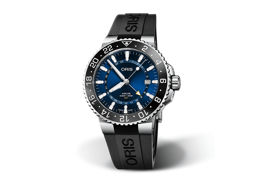 Oris Aquis GMT Gents Watch 01 798 7754 4135-07 4 24 64EB_0