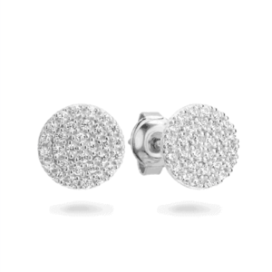 GEORGINI PAVO RHODIUM EARRING IE745W_0