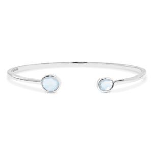 GEORGINI BLUE TOPAZ BANGLE IB156B_0