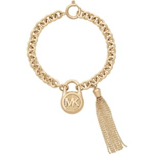 Authentic Michael Kors Gold Fringe Bracelet_0
