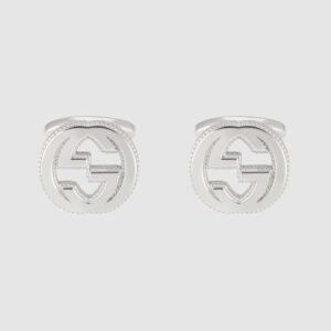 Gucci Interlocking G Cufflinks YBE49901000100U_0