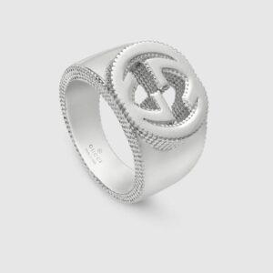 Gucci Interlocking G Ring Silver YBC479229001023_0