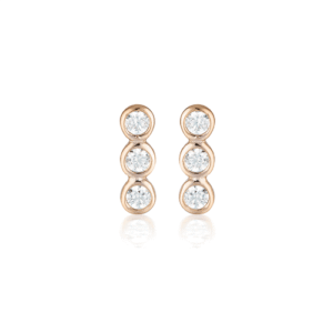 GEORGINI TRIO STUD EARRING IE930RG_0