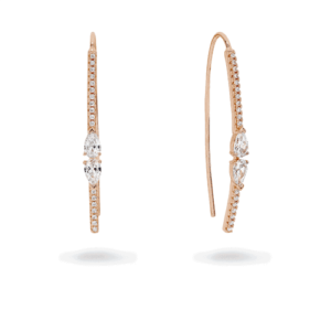 Ultimo rose gold earrings_0