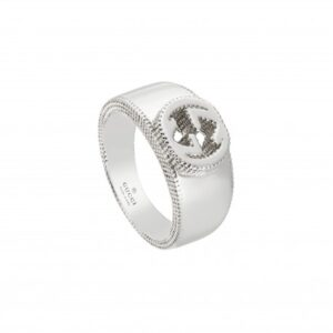 Gucci Interlocking G Ring Silver YBC479228001015_0