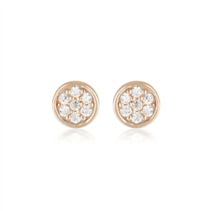 GEORGINI DOTTI STUD EARRING IE926RG_0