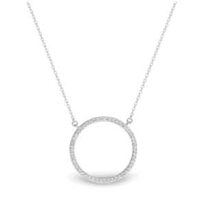 GEORGINI VIRGO RHODIUM PENDANT SILVER IP709W_0