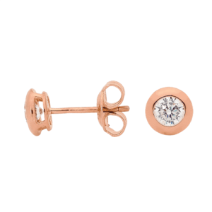GEORGINI STUD EARRING IE367RG_0