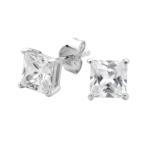 Georgini Clear Square Studs Ie207w_1