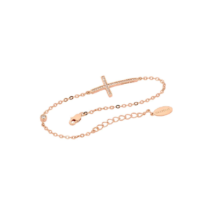 Cross Bracelet Rose Gold_0