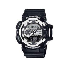 Casio G-Shock GA-400-1A Analog Digital Men's Watch (Black x White) GA400-1ADR_0