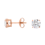 Georgini Clear Round Studs Ie206rg_1