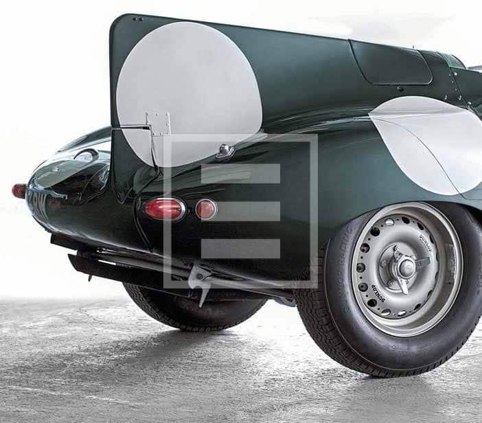 The Jaguar E2A wich compete in 1960s