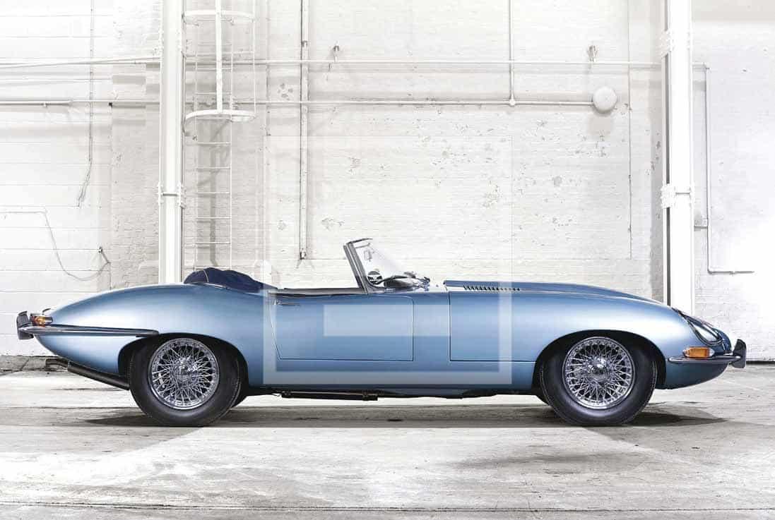 The Jaguar E-Type, the historical model that epitomises the English marque's legendary status