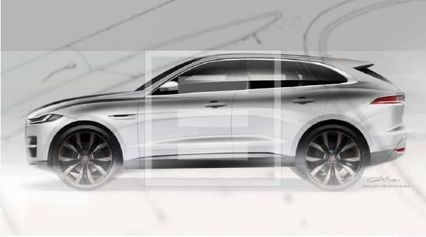 """The Jaguar F-Pace described by Callum as """"a perfect balance of style, performance and practicality"""""""