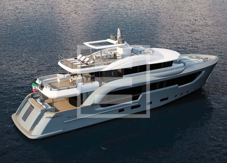 From Columbus Yachts and Too Design the new Berlinetta range