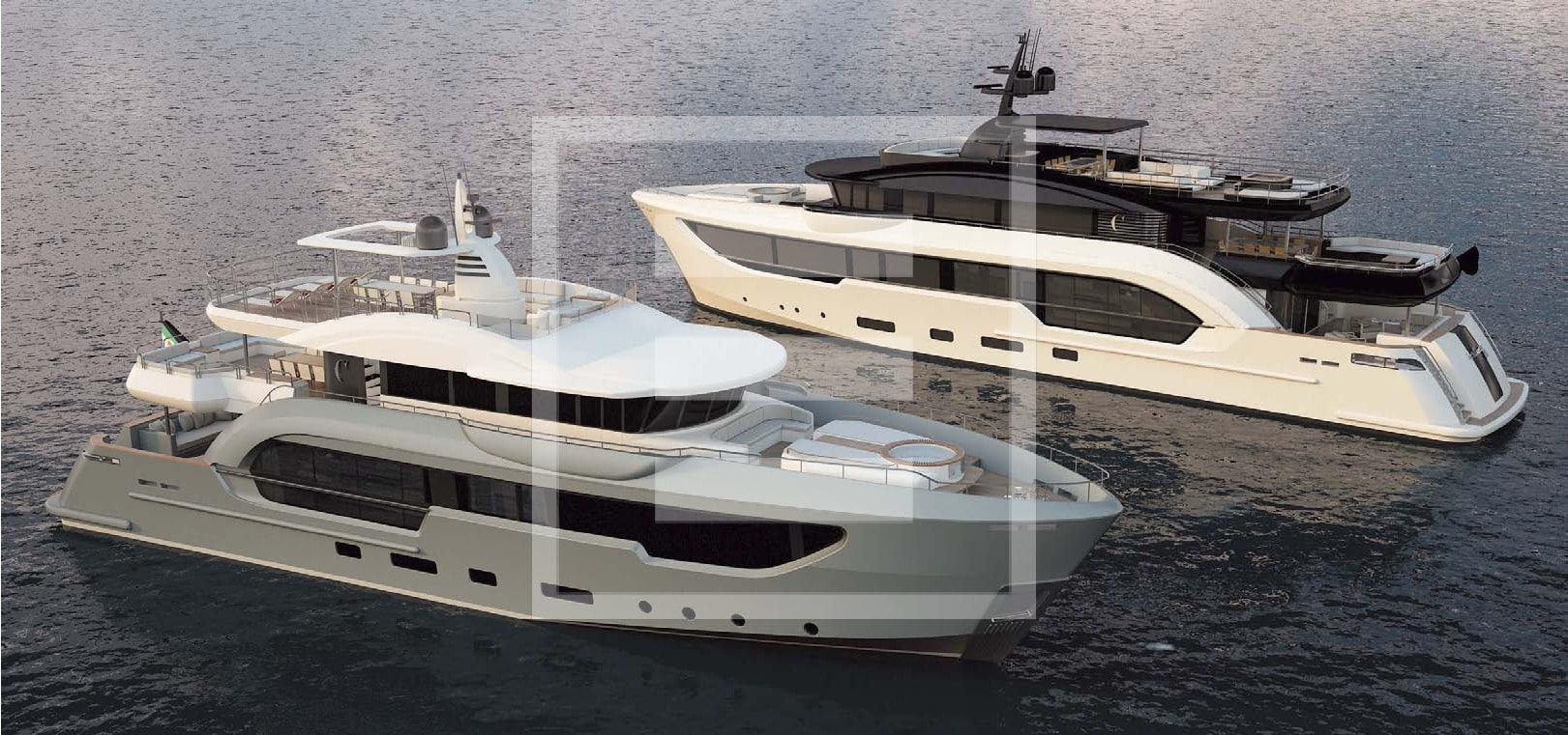 Berlinetta is the new range to emerge from the increasingly close working relationship between Columbus Yachts and Too Design