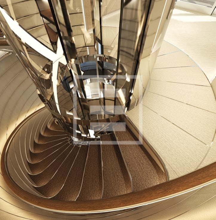 Project Kometa's staircase