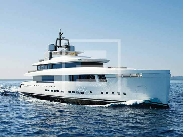The A50 Aria yacht by Mondomarine