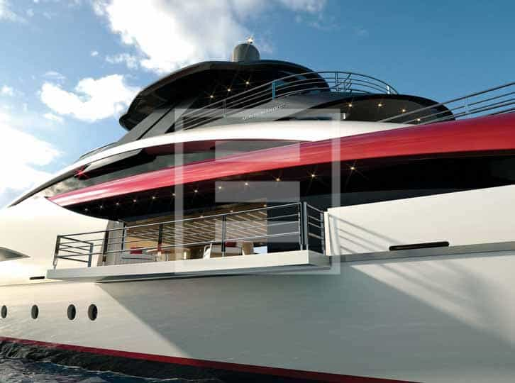 Thanks to its Mondomarine hull the M60 SeaFalcon can make between 22 and 27 knots