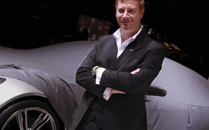 Marek Reichman is Chief Creative Officer and Design Director of Aston Martin