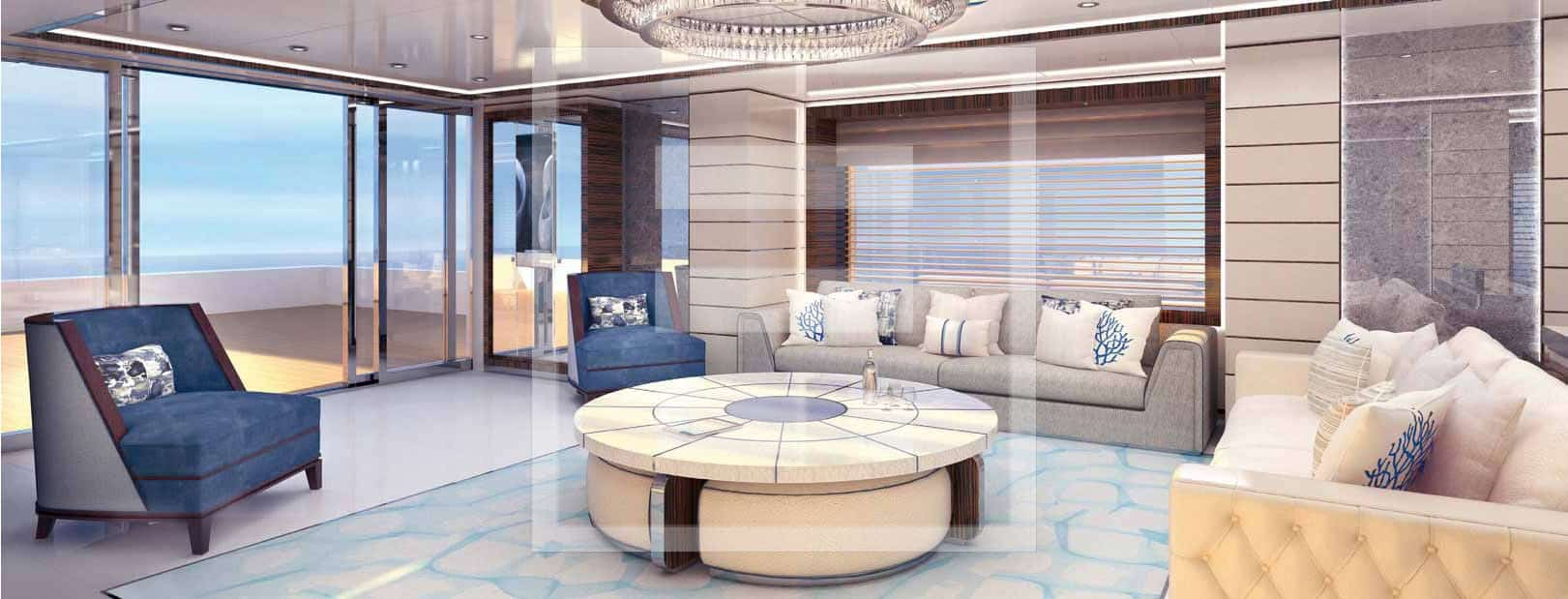 The 47-metre from Proteksan Turquoise interior
