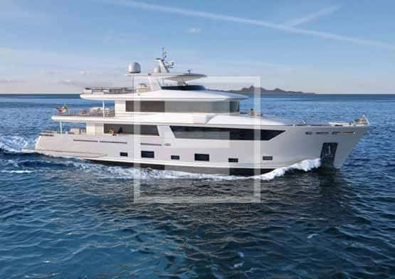 The 30-metre flagship of the Nauta Air fleet from the Cantiere delle Marche