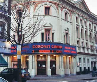 Coronet Cinema, Notting Hill Gate, West London