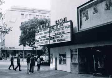 The former Atrium Cinema, Stuttgart, Germany. IMAGE SOURCE: © Joachim Polzer. Main picture © Simone Suko & Annette Hempfling