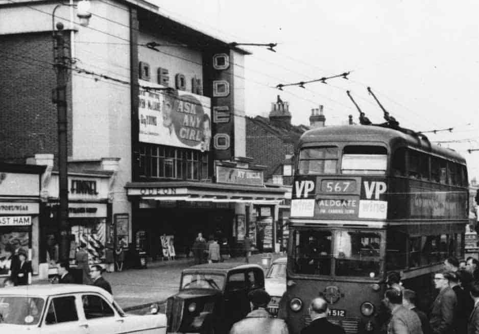 The Odeon East Ham, London E6 Image: Courtesy of The Cinema Theatre Association