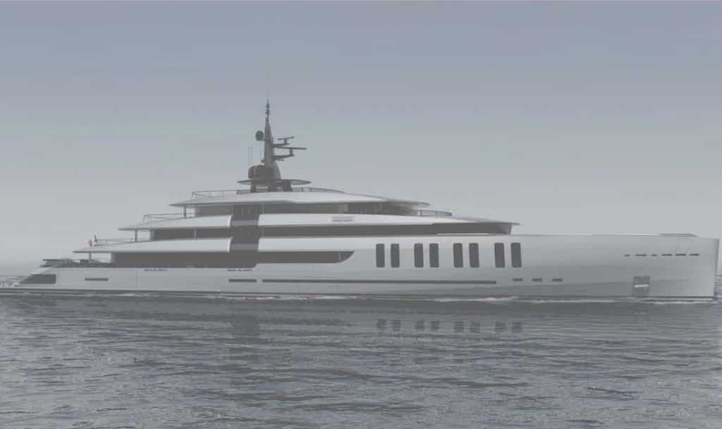 Colosseum by Oceanco yacht