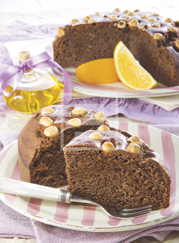 Torta supermorbida all'olio, arancia e nocciole