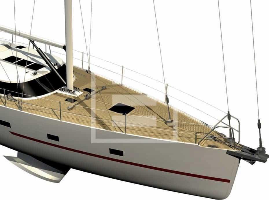 AY480: uno scafo di alluminio per solcare l'oceano