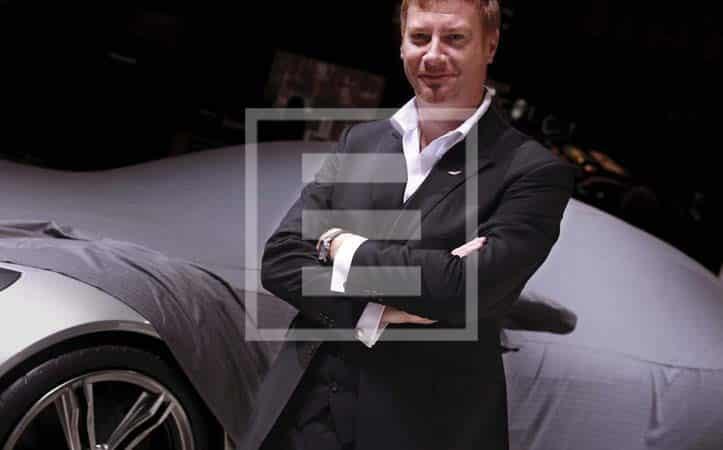 Marek Reichman è Chief Creative Officer e Design Director di Aston Martin
