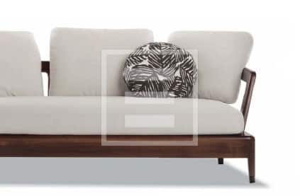Il divano Virginia di Minotti