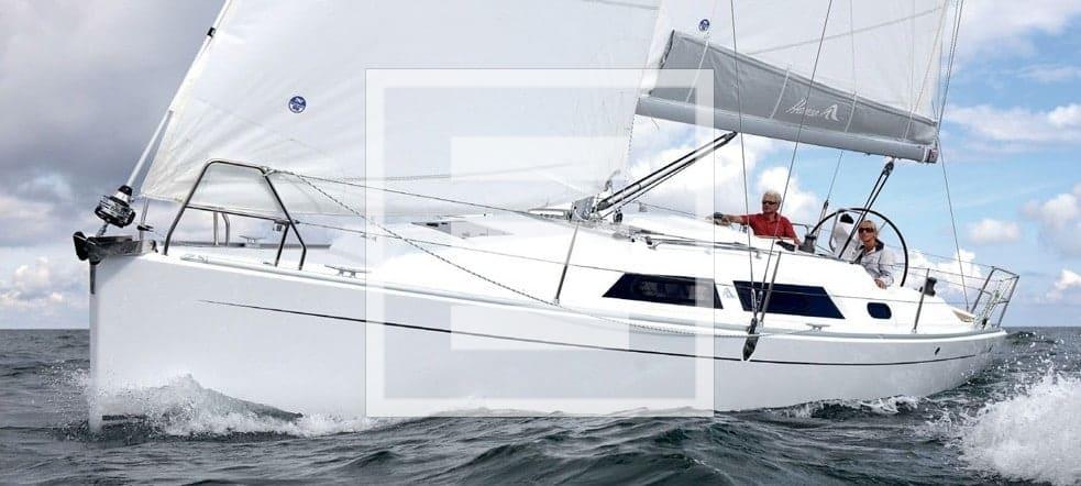 hanse 325 prova caratteristiche yacht