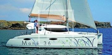 barche con pozzetto centrale mahe 36 evolution