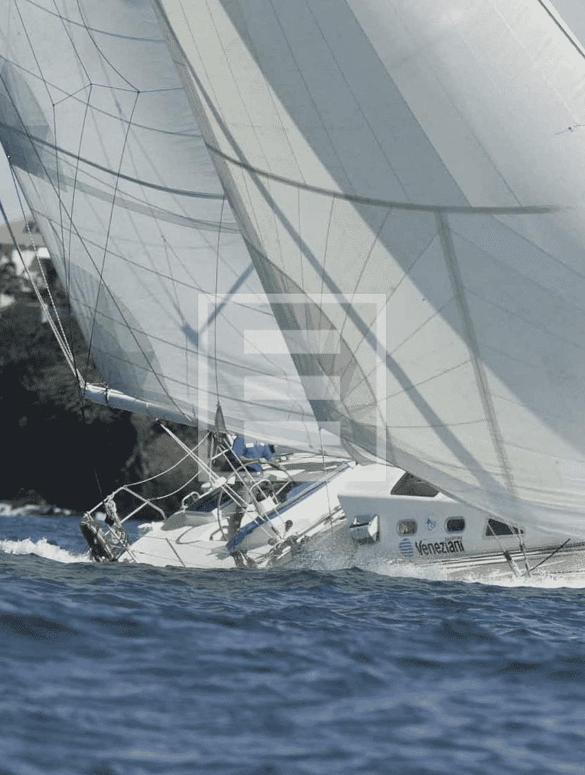 Andrea Farina e il restauro di Moana 60, 18 metri, con 150mila euro