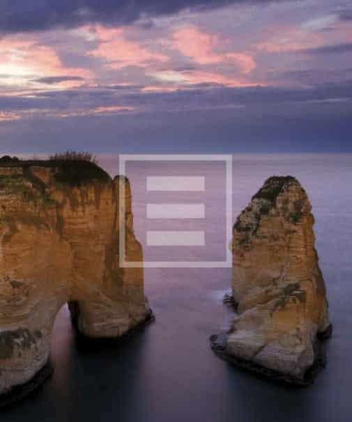 Rawshe Rock (Pigeon Rocks) Beirut