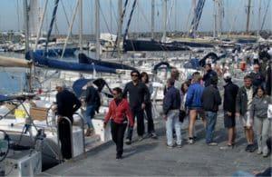 Dufour Yachts e il raduno (con regata) a Pian di Sorrento