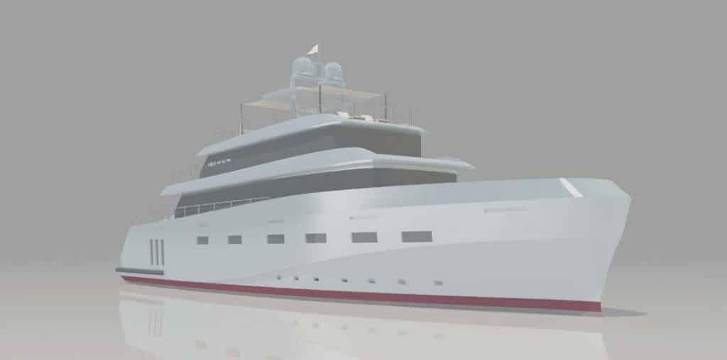 K40: caratteristiche del nuovo expedition yacht di Cerri Cantieri Navali