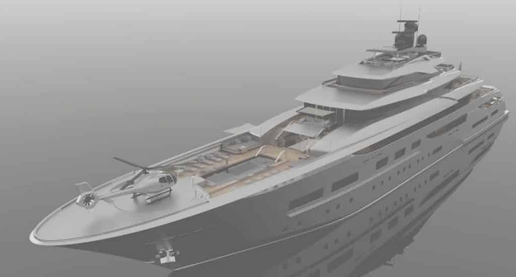 Teti: la nuova visione di Zuccon SuperYacht Design nel megayacht di 94 metri